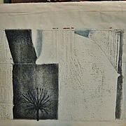 "SALE Original Etching ""Place Dauphine a Paris"" by Mario Micossi"