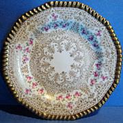 SALE Set of 10 antique Wedgwood Cabinet Plates, 1878-1910 Mark