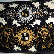 Original Tapestry by Jean Picart Le Doux, Aubusson Weave, 1960's