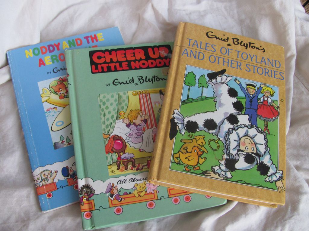 3 Noddy Reprinted from 80's & 90's