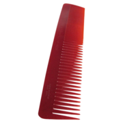 Art Deco NOS Twin Cut Galalith British made Red Comb