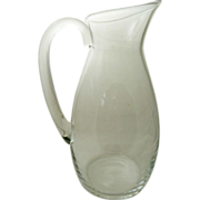 BACCARAT Dom Perignon Crystal Pitcher and Two Wine Glasses