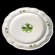 Pfaltzgraff Christmas Heirloom Luncheon Plate, 5 Available