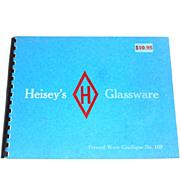 1974 Reprint Heisey Glassware Catalog No. 109