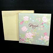 Hallmark 1983 Floral Photograph Album With Box