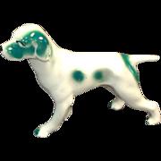 Hound Pointer Retriever Ceramic Dog Figurine