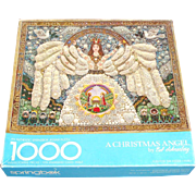 Christmas Angel Jewelry Collage 1000 Pc Springbok Puzzle Original