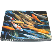 Rush Hour Springbok Gold Fish Cards Jigsaw Puzzle