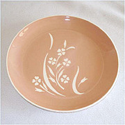Harkerware Springtime Salad Plate Mint, 4 Available