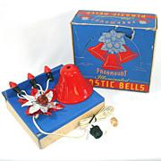 Paramount Illuminated Plastic Christmas Bells In Box