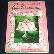 Good Housekeeping Book of Cake Decorating 1961