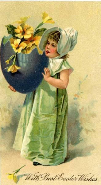 """""""Easter Wishes""""  (1908)"""