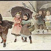 """""""Under the Umbrella""""  (1912)"""