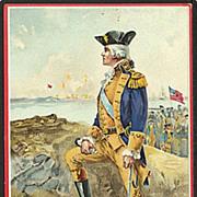 """""""Washington at Yorktown""""  (1930')"""