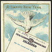 """A Happy New Year""  (1910)"