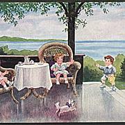 """""""Tea Time""""  (1917)"""