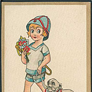 """Girl with Dog""  (1928)"