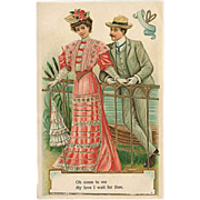 """SOLD """"Sweethearts""""  (1908)"""