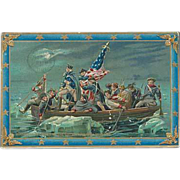 """Washington Crossing the Delaware""  (1911)"
