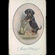 """""""Adorable Dog""""  (1922)"""