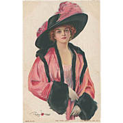 "SOLD ""The pink Lady""  (1914)"