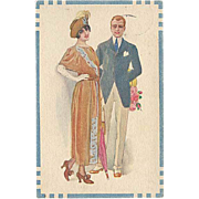 """Stylish Couple""  (1922)"