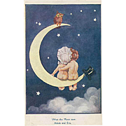 """What the Moon saw""  (1914)"