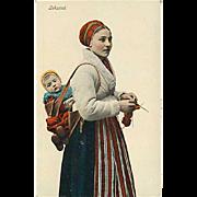 """""""Knitting Woman""""  (1910')"""