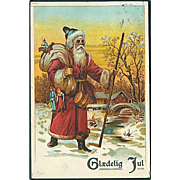 """Santa Claus in Red""  (1910)"
