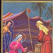 """""""Nativity"""" signed A. Collino   (1967)"""