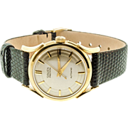 14 Karat Yellow Gold Gruen Watch