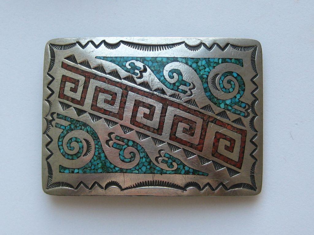 Belt Vintage Vintage Navajo Belt Buckle