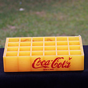 Plastic Coca Cola Bottle Crate Toy Spanish