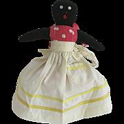 Black Americana Folk Art Mammy Doll Toaster Cover