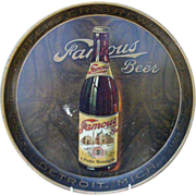 Famous Beer Pfeiffer Brewing Co. Tin Serving Tray