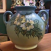 Weller Hudson Vase - Signed - Excellent