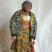 Italian Creche Figure, Woman
