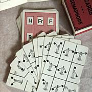 Semacode Signal Training Cards, U.S. Playing Card Company