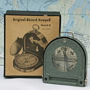 SOLD Original Bezard Compass Modell II, Fluid Bezard