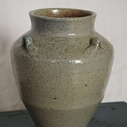 North Carolina Jugtown Ware Pottery Vase