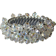 Fabulous Crystal Covered Cha-Cha Expansion Bracelet