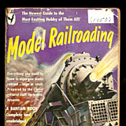 SALE 1950 Lionel Train Model Railroading Book - Illustrated First Edition Manual - Official Li