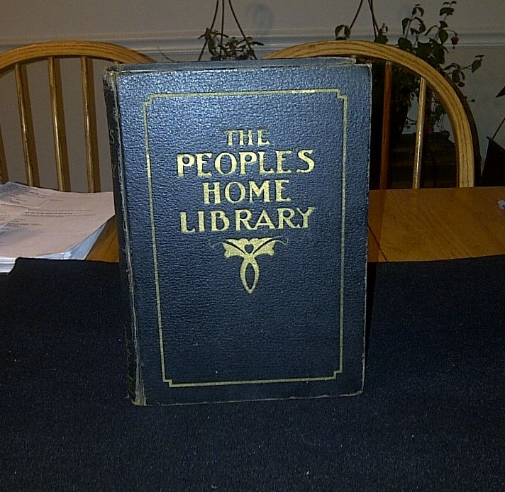 The People's Home Library 1917 City Edition - Medical, Nursing, Recipe and Domestic Science Home Resource Book