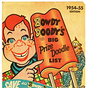 SALE 1954-1955 Howdy Doody Childrens Television Show Advertising - Howdy Doody Ice Cream Club
