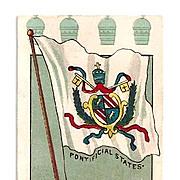 SALE 1904 Saint Louis World's Fair Memorabilia Advertising Trade Card - Vatican Papal States .