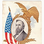 1906 US President Photo Series Rutherford B. Hayes Vintage Postcard - 19th United States Presi