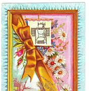 SALE c1890 New Home Sewing Machine Company Victorian Advertising Trade Card – J. Ottmann ...