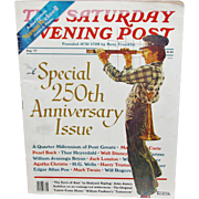 SALE Saturday Evening Post Magazine 250th Anniversary Issue – August 1977 – Cover Art by N