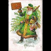 SALE PENDING Late Victorian CHRISTMAS Father Christmas / Santa Claus / Saint Nicholas - Vintag