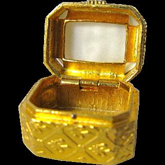 Small Florenza Vanity Pill Box